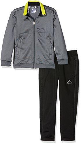 adidas Jungen Präsentationsanzug Condivo 16 PES Trainingsanzug, Vista Grey/Black, 152