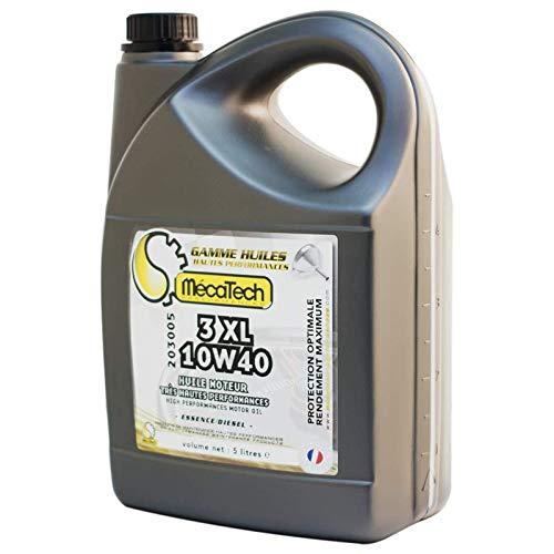 Mecatech motorolie diesel benzine semi synthetisch zeer hoge prestaties thecnologie GDA 3XL 10W40