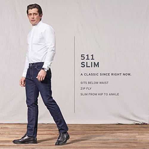 Levi's 511 Jeans slim da uomo - Blu - 28W x 32L