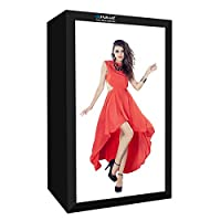 KMLPJP 200cmスタジオボックス6ライトストリップバー240W 5500K白色光写真照明撮影テントキット用服/大人モデルの肖像画(米国プラグ) (Color : Color3)