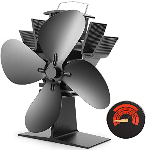 CWLAKON Heat Powered Stove Fan-2020 Upgrade...