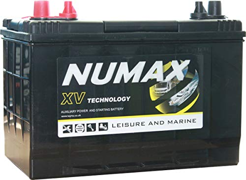 Numax Marine Loisirs, Dual Xv27Mf Batterie Bateaux, Camping-Cars, Loisirs, 12V 100Ah 720 Amps (En)