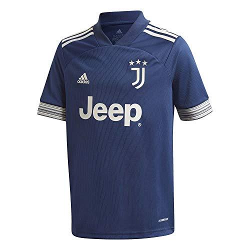 adidas Juventus FC Temporada 2020/21 JUVE A JSY Y Camiseta Segunda equipación, Niño, Night Indigo/Alumina, 176