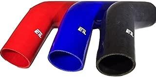 ETL Performance 236005 Silicone Elbow 2.50 Inch 45 Degree Black