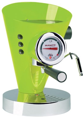 Bugatti DIVA - Espresso Machine Apple Verde