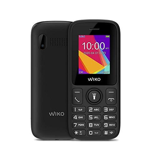 Wiko F100 Negro Móvil Senior Dual Sim 1.8'' Cámara Vga Bluetooth Radio FM