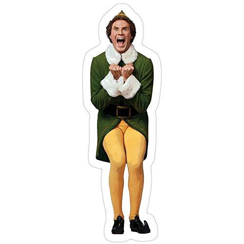 rangerpolocon Buddy The ELF! Will Ferrell Elf Christmas Movie Stickers (3 Pcs/Pack) 4571823427135