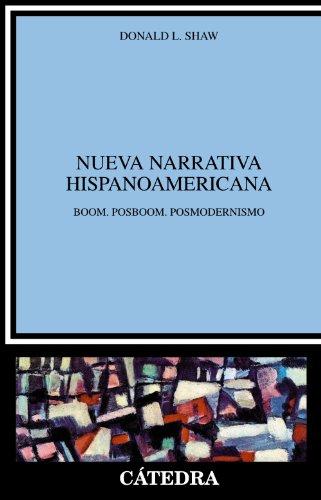 Nueva narrativa hispanoamericana: Boom. Posboom. Posmodernismo (Crítica y estudios literarios)