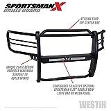 Westin 40-33835 Textured Black Sportsman X Grille Guard F150 2015-2020