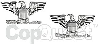 Metal Rank Insignia, Col. Eagle, Gold, PR