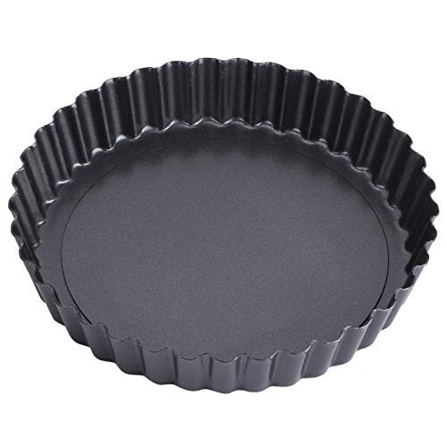 High Carbon Steel Heat Sensitive Round Kitchen Tool Cake Pan for Making Pizza(9 inch TG11#C)