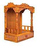 Ply Wood Handmade Product , Product Dimensions : Wall Mounten Beautiful Temple (Hight 52 X 42X 26CM) Hand-Cast and Hand-Painted: Ensure of this Temple and making the Temple design decor out of the ordinary and unique. Extraordinarily alert, strikingl...