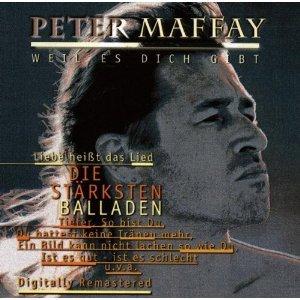 CD Album mit emotionalen Balladen von Peter Maffay (16 Titel, incl. so bist du, und es war sommer, josie, du hattest keine träne mehr, tieferetc. )