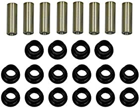 SuperATV Heavy Duty Front A-arm/Control Arms Bushing Kit for Can-Am ATV Outlander/Renegade/XMR/Traxter (All years) - Replaces BRP Part Numbers 706200181 & 706200678