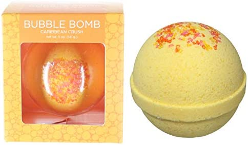 Caribbean Crush Bubble Bath Bomb by Two Sisters Spa Large 99 Natural Fizzy for Women Teens and product image