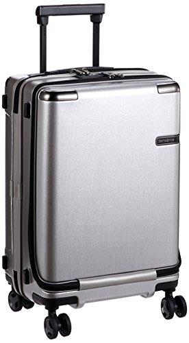 [サムソナイト]スーツケースキャリーケースエヴォアスピナー55機内持ち込み可保証付33L55cm3.7kgブラッシュドシルバー