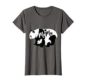 Cute Panda Mama & Cub Bear T-Shirt