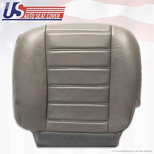 2003 to 07 Hummer H2 Driver Side Bottom OEM Synthetic Leather Seat Cover Gray