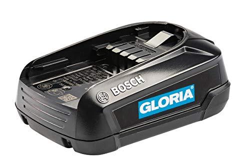Gloria Batteria Bosch da 18 V e 2.5 Ah Linea Power For All Batteria per Multijet 18V, Multibrush LiOn, Weedbrush LiOn, Compressore per Nebulizzatori Una Batteria per la Casa