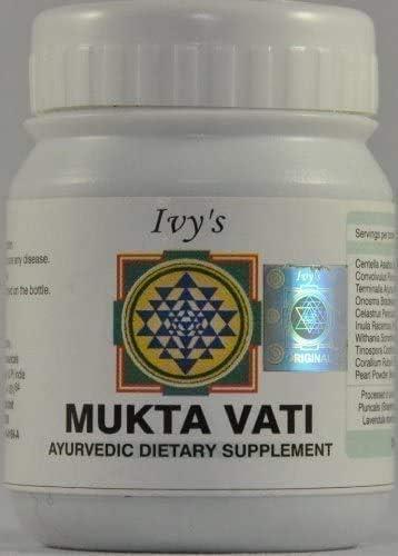 Ivy's Mukta Portland Mall Vati 120 Herbal Tablet Packs Ranking TOP2 of 120Tabs Each 10