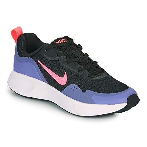 Nike WEARALLDAY (GS), Zapatillas para Correr, Black Sunset Pulse Sapphire, 38.5 EU