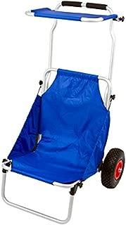 Catalina Creations Folding Beach Chair and Beach Cart Combo