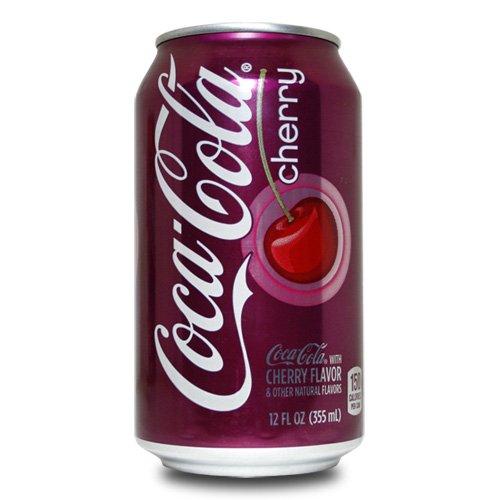 Coca-Cola - Cherry Coke - 355ml