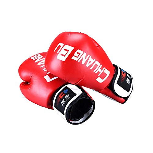 YUXINXIN Kids Boxing Kickboxing Trainingshandschuhe for Kinder Boxsack Sparring Training Alter 5 bis 13 (Color : Red)