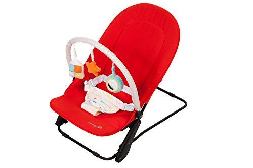 Safety 1st Transat bébé Laoma avec arche d'éveil Red Lines