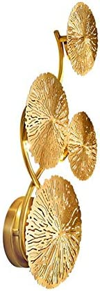 W-SHTAO L-WSWS Wall shopping Lamp Copper Cash special price Lotus Lustre Vint Leaf