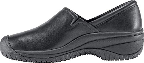 KEEN Utility Women's PTC Slip On II Work Shoe,Black,8 M US