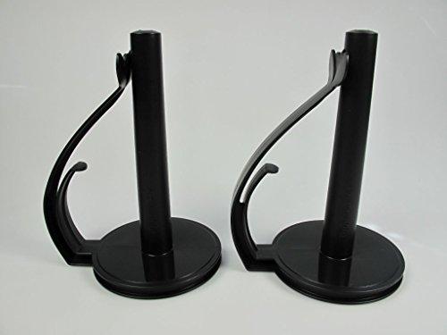 TUPPERWARE Küchenhelfer Halter Küchenrollen-Halter(2) schwarz Küchenrollenhalter