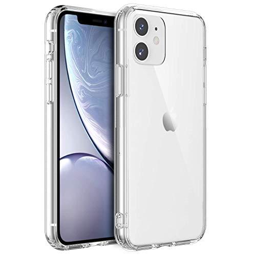 Shamo's Funda iPhone 11 Transparente, Carcasa Tecnología de cojín de Aire y protección híbrida de la caída, PC Duro Panel...