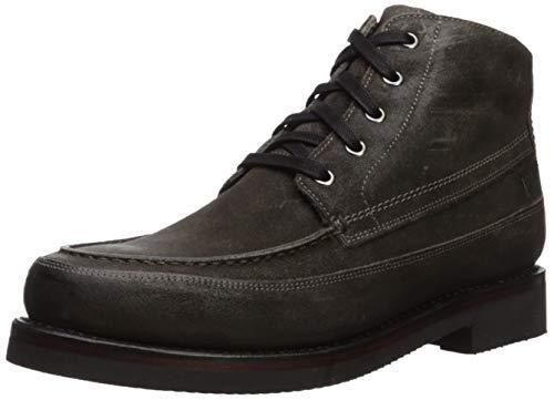 FRYE Men's Field Lace Up Fashion Boot, Dark Grey, 12 M US