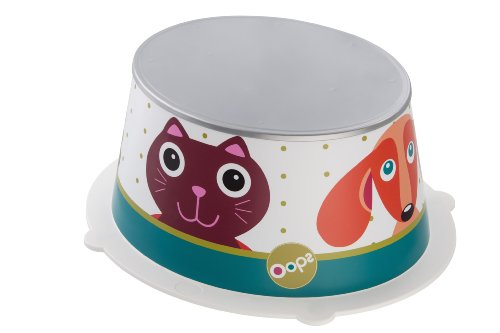 Rotho Babydesign Oops StyLe! Sgabello per bambini, Pedana antiscivolo, StyLe!, Bianco, 202160001AW