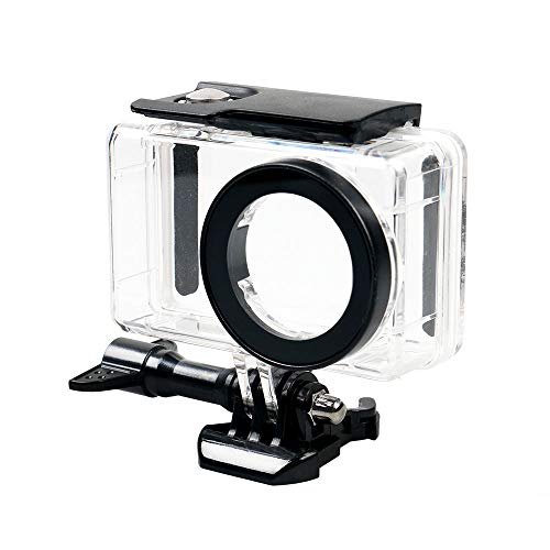 Yifant 148ft / 45M Waterproof Housing Case for Xiaomi Mijia 4K Mini Action Camera Underwater Diving Protective Shell with Quick Release Bracket High Transparent Case Expansion Accessory