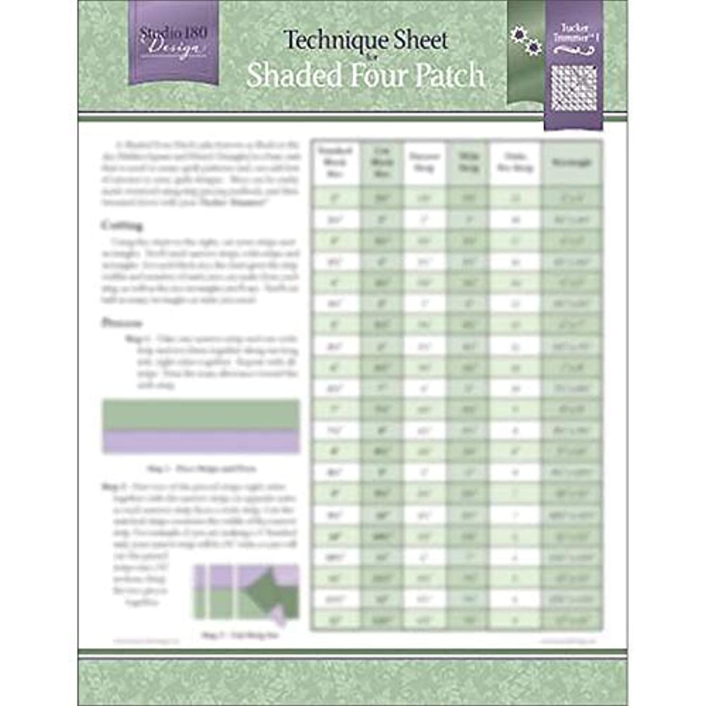 Studio 180 Design Technique Sheet - for Shaded Nine Patch Quilt Blocks