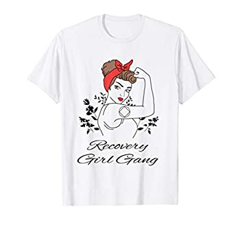 Recovery Girl Gang Narcotics Anonymous NA AA 12 Step Gifts T-Shirt