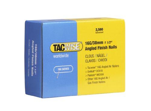 Tacwise 0770 2.1/50mm Chiodi a Bobina Zincati Anellati (Appuntiti)
