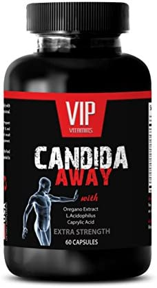 Natural detoxification Supplement Candida Away Extra Strength Formula Natural Solution Digestive product image