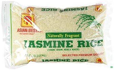 Asian Best Jasmine Rice, 5 Pound