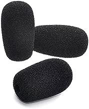 Blue Parrott B250 Foam Replacement for BlueParrott B250 B350 B450 B550 C400 S450 Noise canceling Headset Microphone Pop Filter Windscreen Mic Cover, 3-Pack