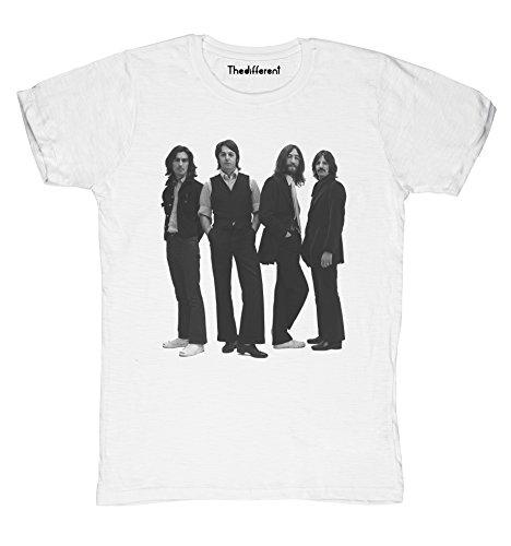 New T-Shirt Fiammata Uomo Beatles Fashion Idea Regalo