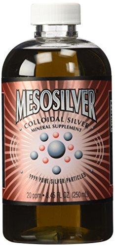 MesoSilver ® 20 ppm Colloidal Silver 250 mL/8.45 Oz