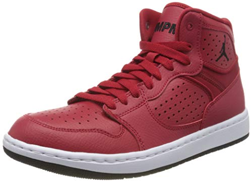 Nike Jordan Access, Zapatillas Altas Hombre, Multicolor (Gym Red/Black/White 600), 42.5 EU