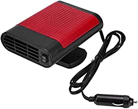 Shenlin Portable Car Heater 12V 150W High Power in Car Heater Fast Heating Fan for Defrosting Automobile Windscreen & Keeping Warm (Red)