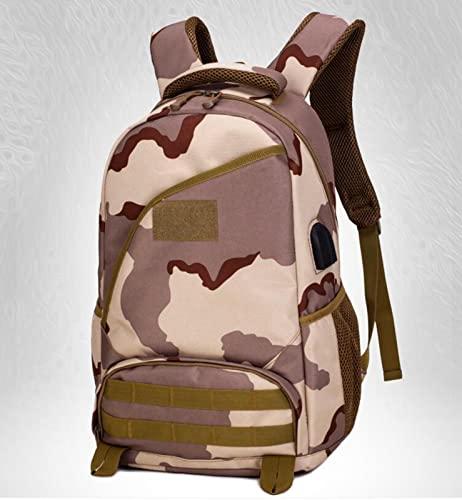 Mochila Militar, Mochila Militar Táctica 36-55L de Asalto con MOLLE Sistema Gran Bolso de Hombro Hombre Impermeable para Viajar Camping Caza Senderismo G