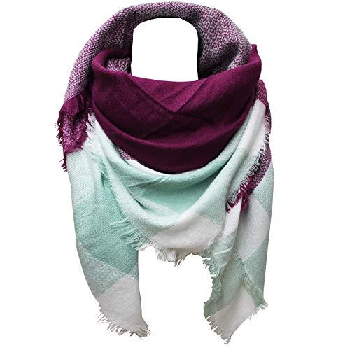Glamexx24 XXL-sjaal Gezellige, warme en mooie damesponchosjaal met verschillende patronen sjaalponcho
