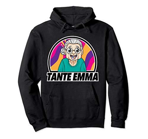 Tante Emma Techno Hardtekk Acid Raver Breakcore Cybergrind Pullover Hoodie