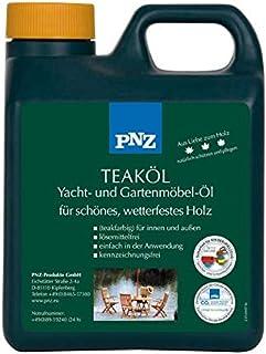PNZ Teak-Öl W Yacht- und Gartenmöbelöl, Gebinde:1L, Farbe:teakfarben